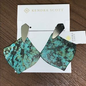 NWT Kendra Scott Astoria in African Turquoise